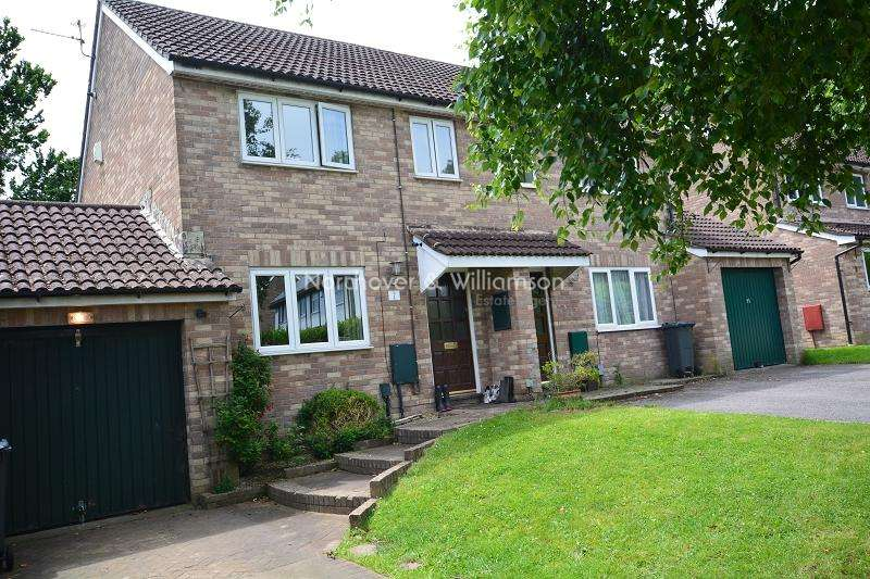 3 Bedrooms Semi Detached House for sale in Sandpiper Close, St. Mellons, Cardiff. CF3