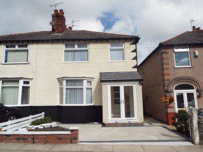 3 Bedrooms Semi Detached House for sale in Moss Pits Lane, Wavertree, Liverpool, Merseyside, L15