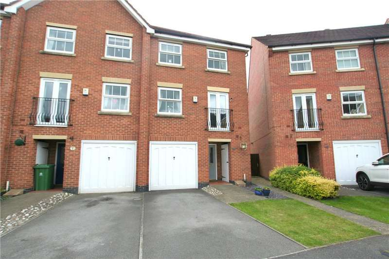 4 Bedrooms Semi Detached House for sale in Greyfriars Close, Heanor, Derbyshire, DE75