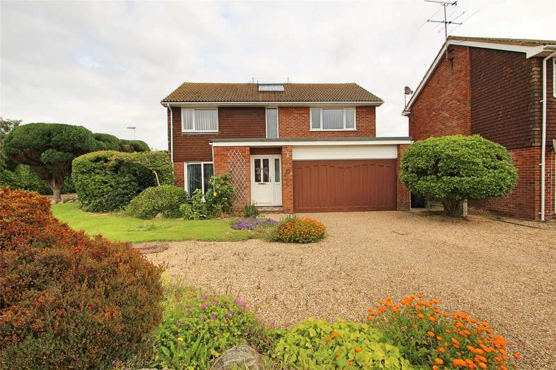 4 Bedrooms Detached House for sale in Alinora Drive, Goring By Sea, Worthing, BN12