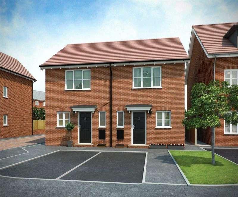 2 Bedrooms Semi Detached House for sale in PLOT 18 WEAVER PHASE 3, Navigation Point, Cinder Lane, Castleford