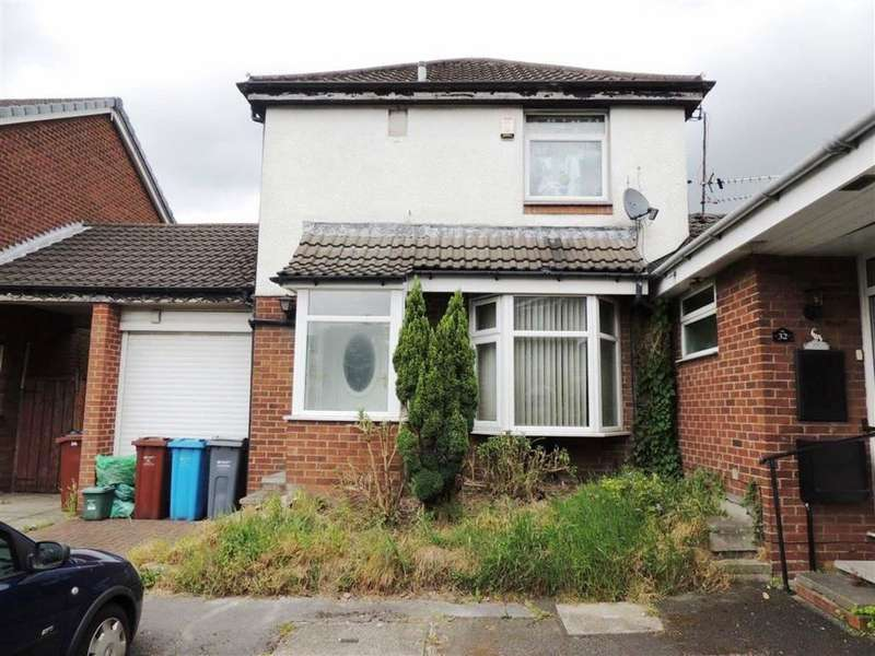 2 Bedrooms Semi Detached House for sale in Ketton Close, Openshaw, Manchester