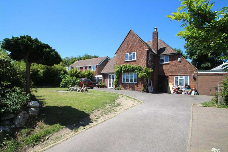 4 Bedrooms Detached House for sale in Old Shoreham Road, Lancing, West Sussex, BN15