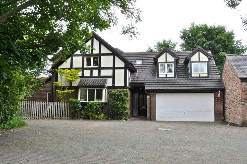 4 Bedrooms Detached House for sale in Beach Road, Hartford, NORTHWICH, Cheshire