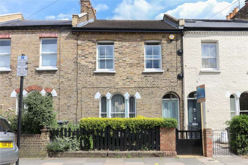 2 Bedrooms Terraced House for sale in Mount Pleasant Crescent, Stroud Green, London, N4