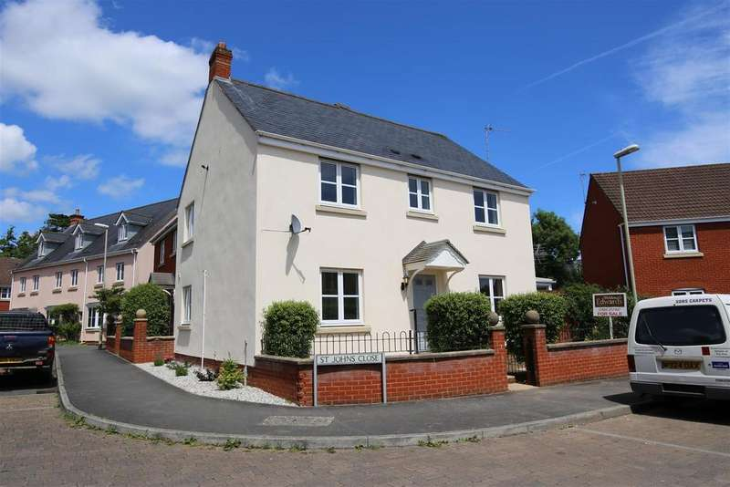 4 Bedrooms Semi Detached House for sale in St. Johns Close, Tiverton