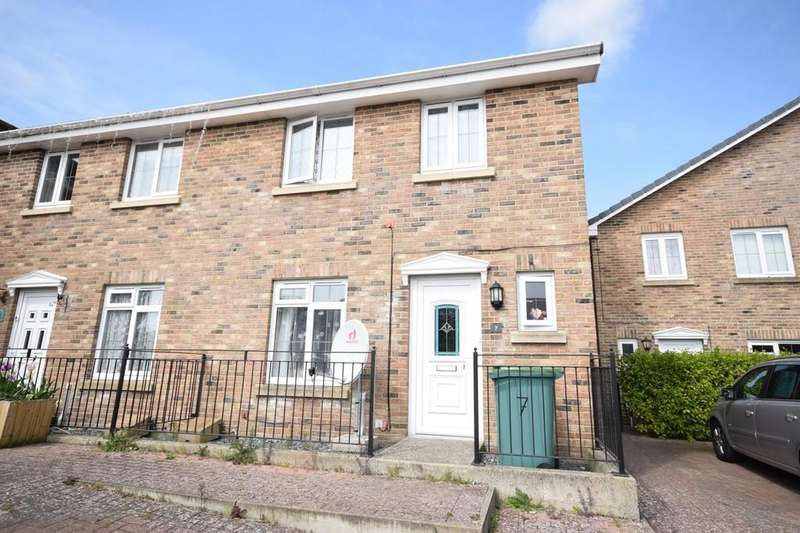 3 Bedrooms Semi Detached House for sale in Bowdens Mead Close, Newport