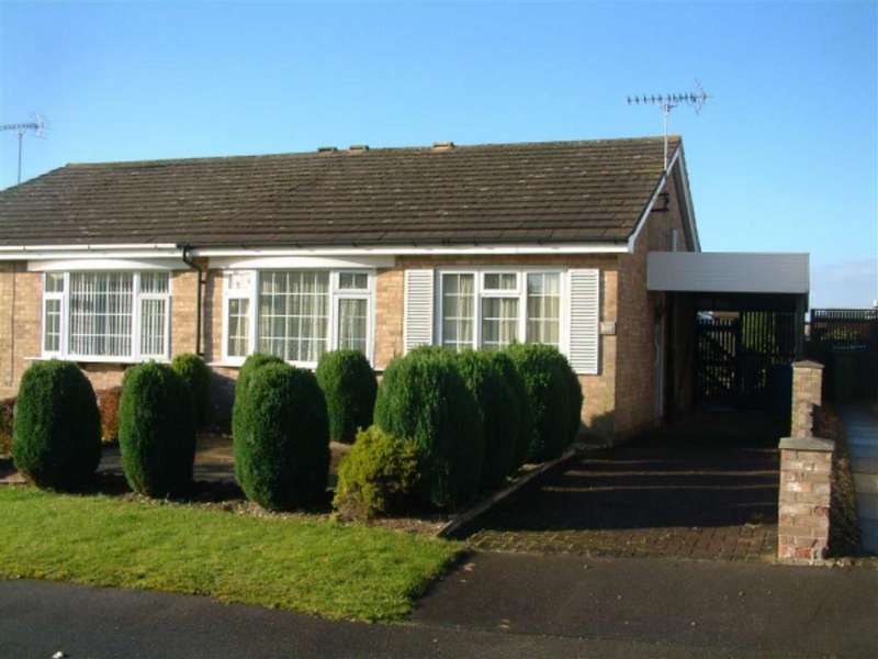 2 Bedrooms Semi Detached Bungalow for sale in Elm Road, Driffield, East Yorkshire