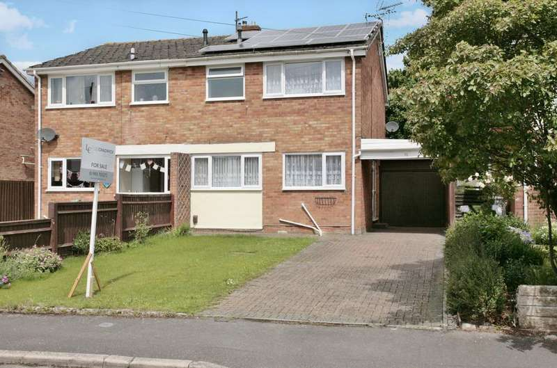 3 Bedrooms Semi Detached House for sale in Burwell Drive, Witney OX28