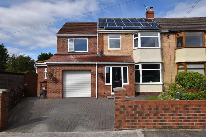 4 Bedrooms Semi Detached House for sale in Woodlands Road, Cleadon