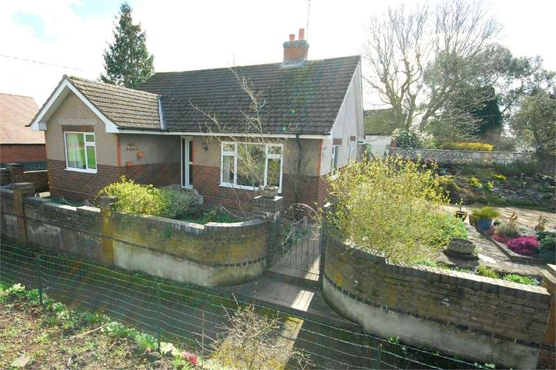 2 Bedrooms Detached Bungalow for sale in The Green, Harborough Magna, RUGBY, Warwickshire
