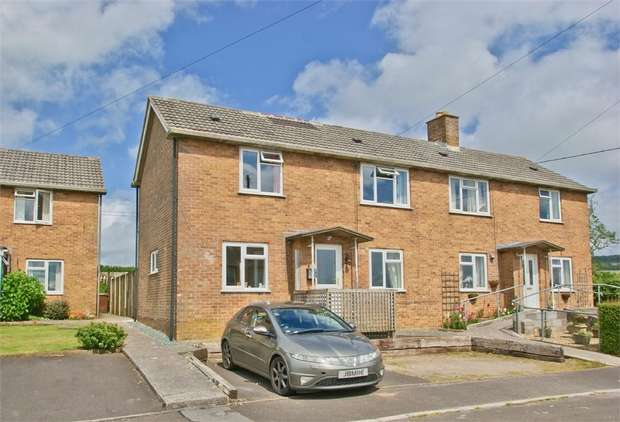 3 Bedrooms Semi Detached House for sale in WEST CRANMORE, Somerset