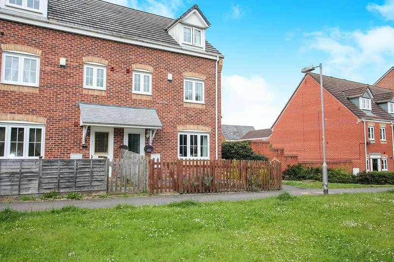 4 Bedrooms Semi Detached House for sale in Marigold Walk, Nuneaton, CV10