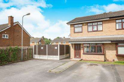 3 Bedrooms Semi Detached House for sale in Carshalton Grove, Wolverhampton, West Midlands