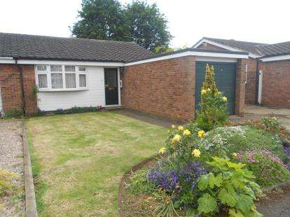 2 Bedrooms Bungalow for sale in Clovelly Way, Bedford, Bedfordshire