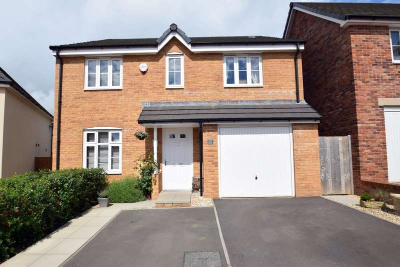 4 Bedrooms Detached House for sale in 10 Lon Yr Helyg, Coity, Bridgend, Bridgend County Borough, CF35 6DD.