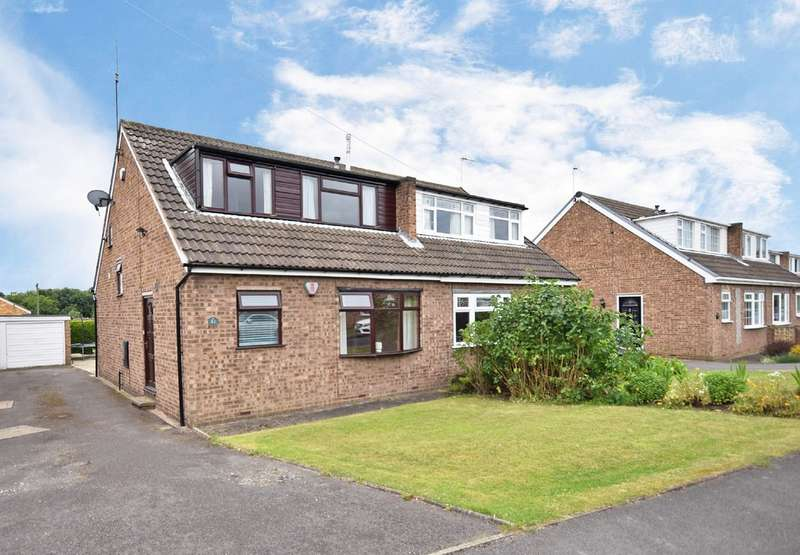 4 Bedrooms Semi Detached House for sale in Fishponds Drive, Crigglestone, Wakefield