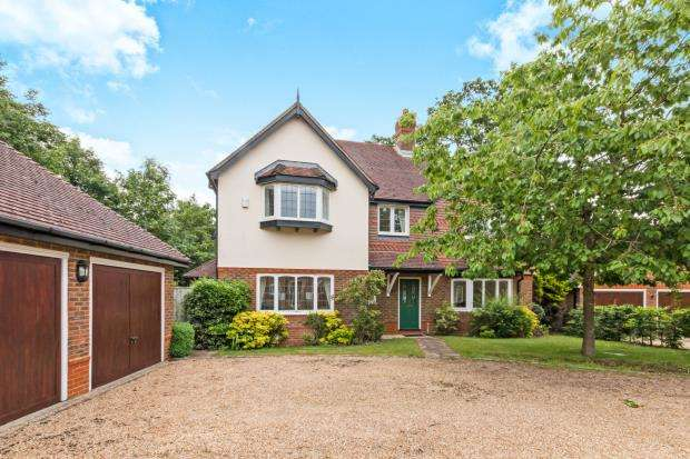5 Bedrooms Detached House for sale in Baughurst, Tadley, Hampshire