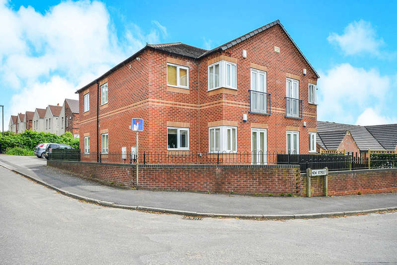 2 Bedrooms Flat for sale in Pasture Lane, Hilcote, Alfreton, DE55