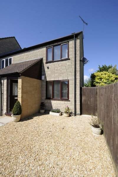 1 Bedroom End Of Terrace House for sale in Foxes Bank Drive, Cirencester, Gloucestershire, GL7