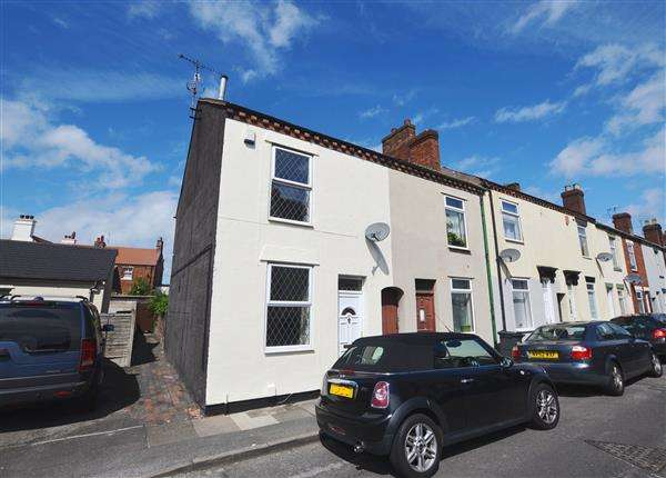 3 Bedrooms End Of Terrace House for sale in Cummings Street, Hartshill, Stoke-On-Trent