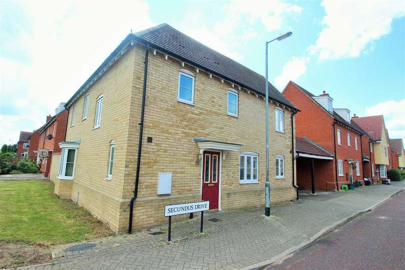 3 Bedrooms Link Detached House for sale in Secundus Drive, Colchester