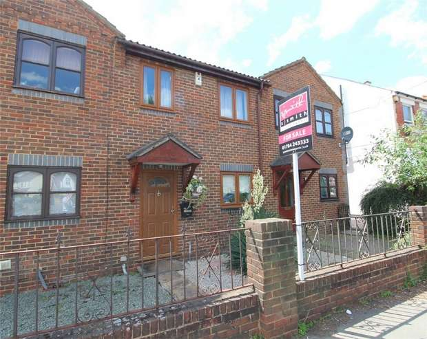 3 Bedrooms Terraced House for sale in Wellington Court, Ashford, Middlesex