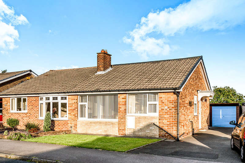 2 Bedrooms Semi Detached Bungalow for sale in Wharfedale Rise, Tingley, Wakefield, WF3