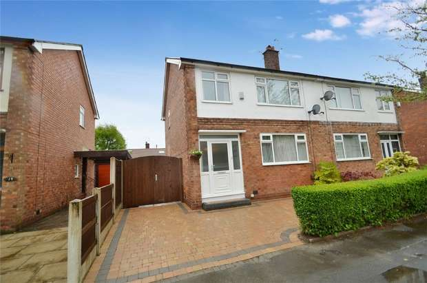 3 Bedrooms Semi Detached House for sale in Linden Grove, Woodsmoor, Stockport, Cheshire