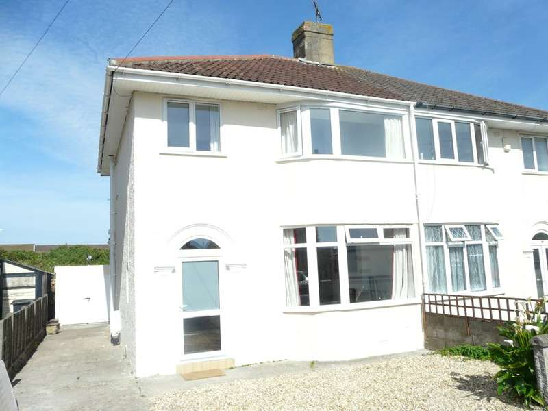 3 Bedrooms Semi Detached House for sale in Weston-super-Mare, North Somerset