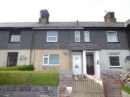 3 Bedrooms Terraced House for sale in Tanrhiw Road, Tregarth, Bangor, Gwynedd, LL57