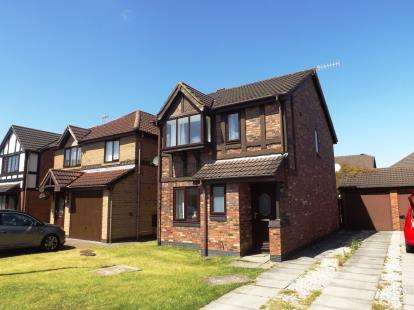 3 Bedrooms Detached House for sale in Hodder Avenue, Grosvenor Park, Morecambe, United Kingdom, LA3