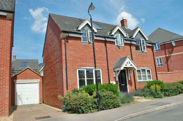 3 Bedrooms Detached House for sale in Norman Snow Way, Duston, Northampton NN5 6FH