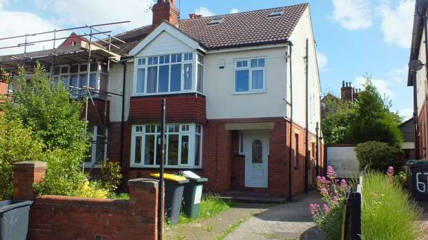 6 Bedrooms Semi Detached House for sale in St. Annes Road, Leeds, LS6