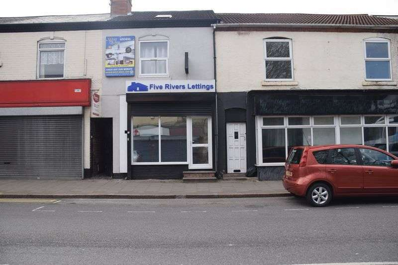 Property for rent in Small Lock Up Shop on Busy Road