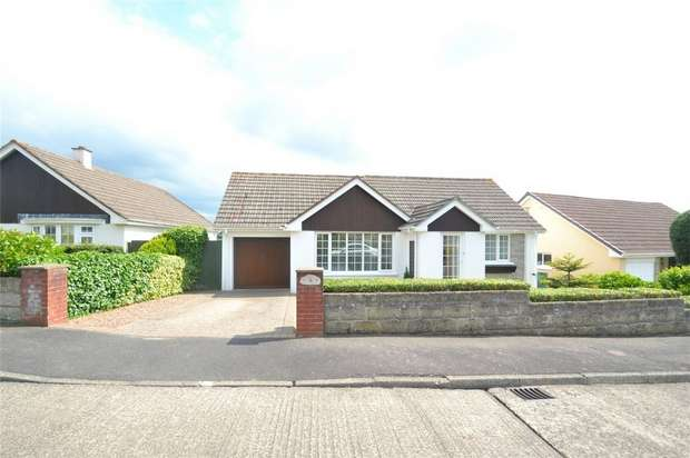 3 Bedrooms Detached Bungalow for sale in STICKLEPATH, Barnstaple, Devon