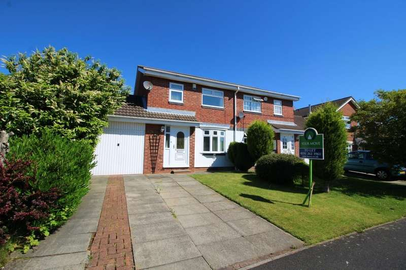 3 Bedrooms Semi Detached House For Rent In Home Park Wallsend NE28
