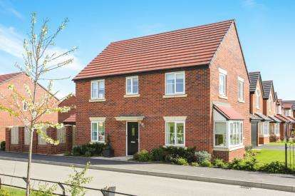 4 Bedrooms Detached House for sale in Clive Way, Middlewich, Cheshire, England