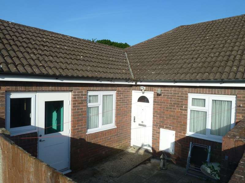 1 Bedroom Semi Detached Bungalow for sale in King John Close, Bearwood, Bournemouth