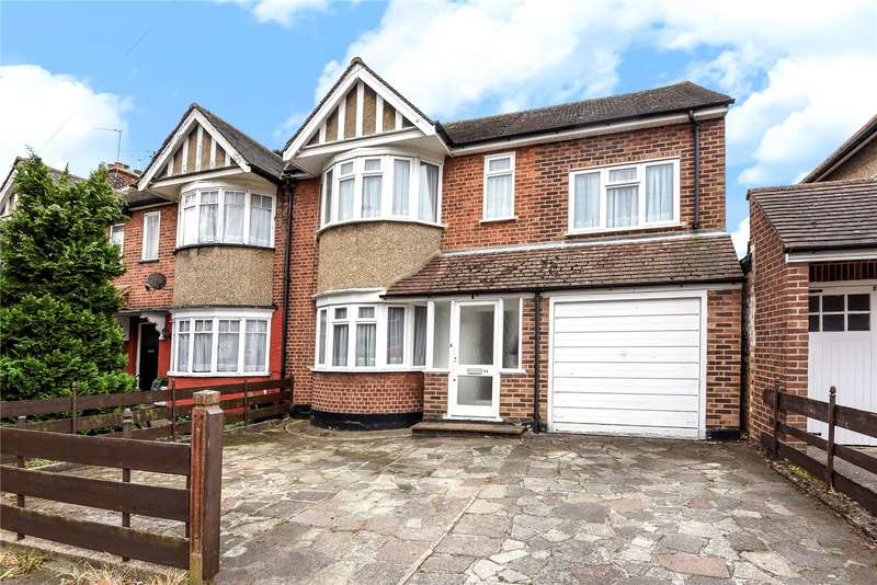 3 Bedrooms End Of Terrace House for sale in Cottingham Chase, Ruislip, Middlesex, HA4