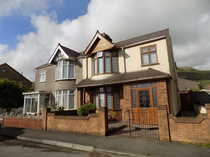 3 Bedrooms Semi Detached House for sale in Beechwood Road, Margam, Port Talbot, Neath Port Talbot. SA13 2AD