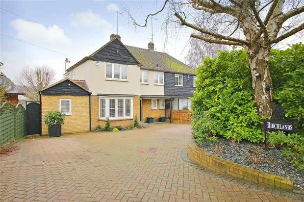 4 Bedrooms Semi Detached House for sale in Birchlands, The Warren, Radlett, Hertfordshire