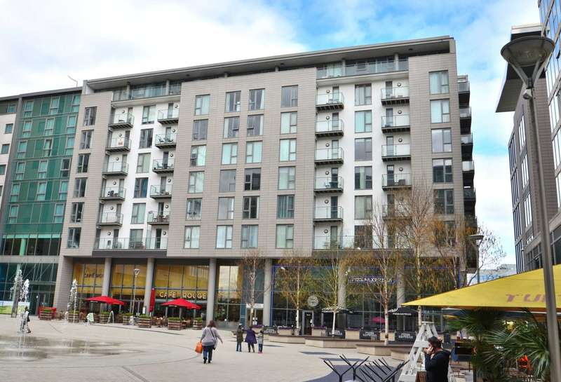 2 Bedrooms Apartment Flat for sale in The Hub, Central Milton Keynes