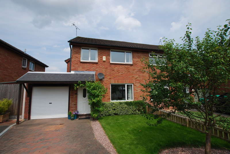 3 Bedrooms Semi Detached House for sale in Mallow Close, Huntington, Chester