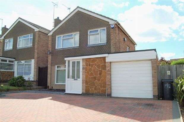 3 Bedrooms Detached House for sale in Landcross Drive, Abington Vale, Northampton NN3 3LS