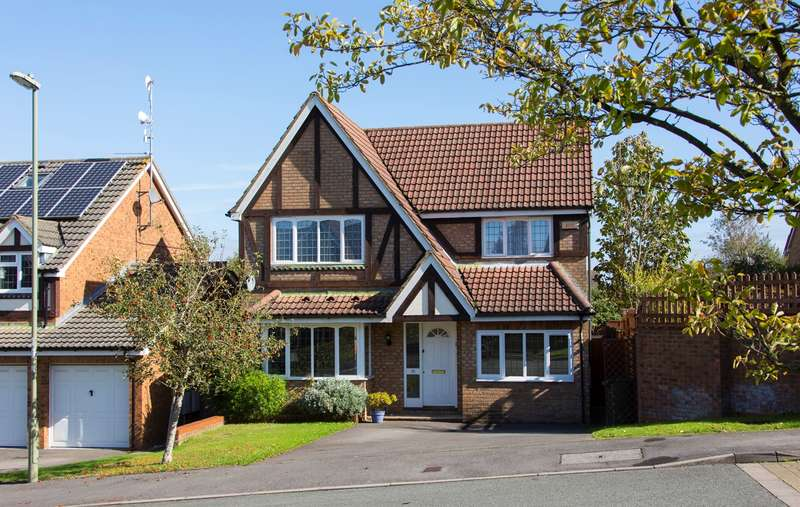 4 Bedrooms Detached House for sale in Belmont Heights, Hatch Warren, Basingstoke, RG22