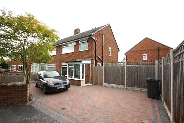 3 Bedrooms Semi Detached House for sale in Parkfield Drive, Whitby, Ellesmere Port