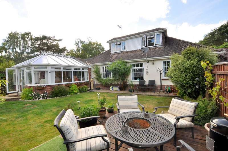 5 Bedrooms Detached Bungalow for sale in West Moors