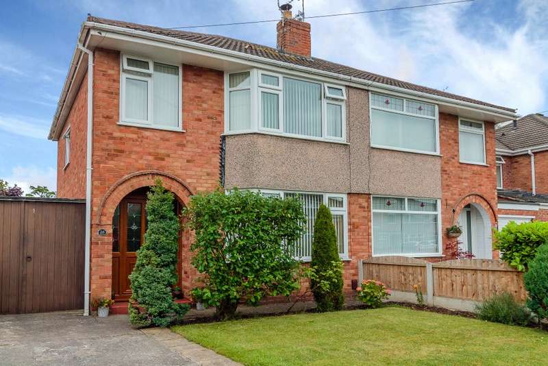 3 Bedrooms Semi Detached House for sale in Redcar Drive,Wirral,Merseyside CH62 8HE