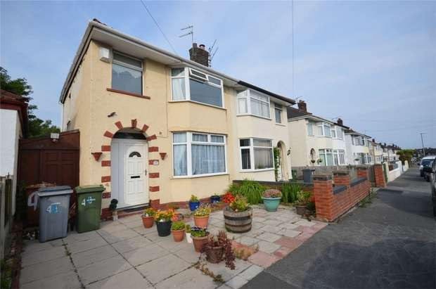 3 Bedrooms Semi Detached House for sale in Eccleshall Road, Port Sunlight, Merseyside